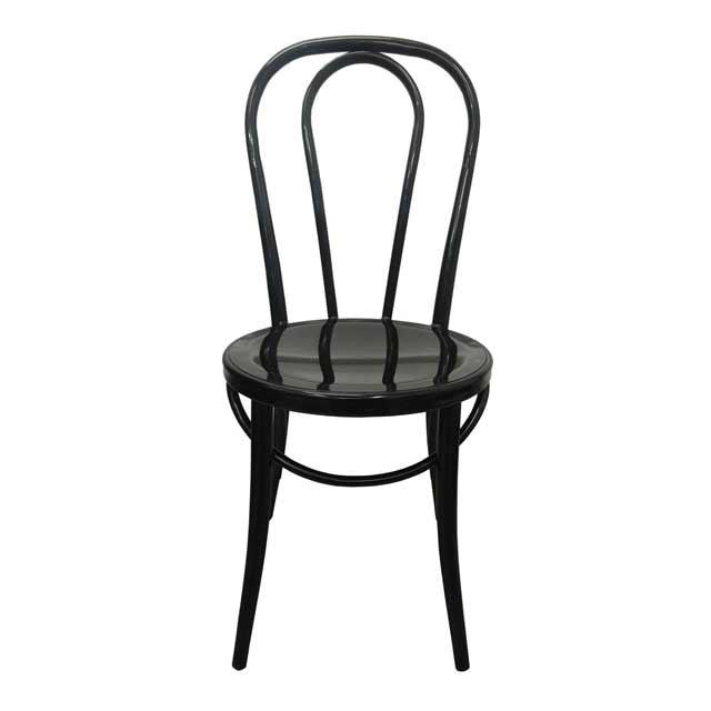 Replica thonet metal bentwood chair cafe restaurant retro for Thonet beistelltisch replica