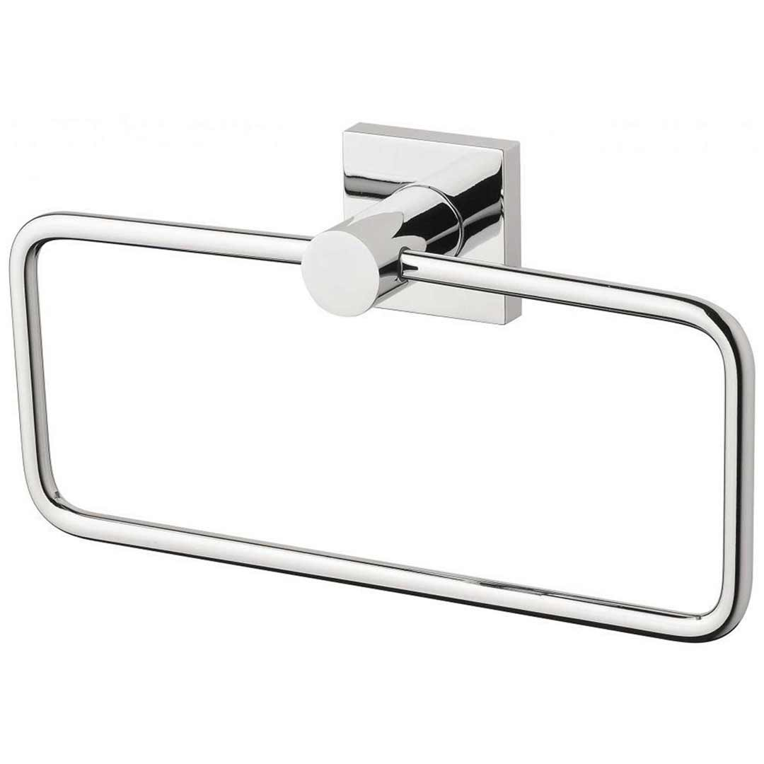Phoenix RADII RS893 CHR Metal Guest Towel Holder Chrome Square