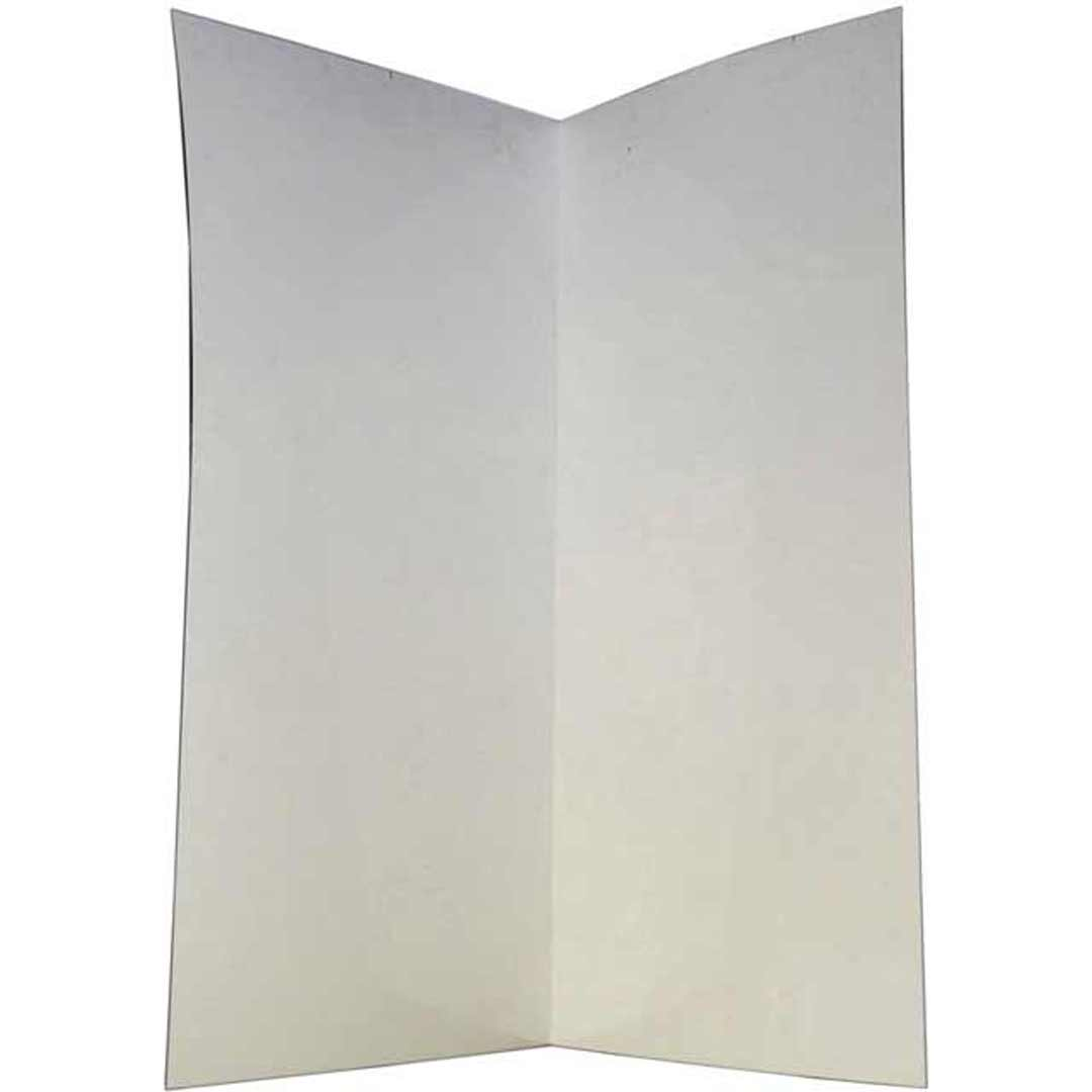 Shower Wall 850 x 850 x 2000mm White