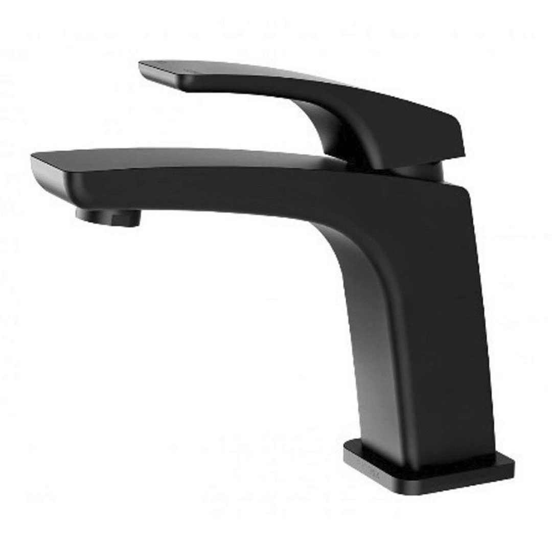 Black Kitchen Tapware: Phoenix Tapware RUSH RU770MB Matte Black Basin Mixer Tap