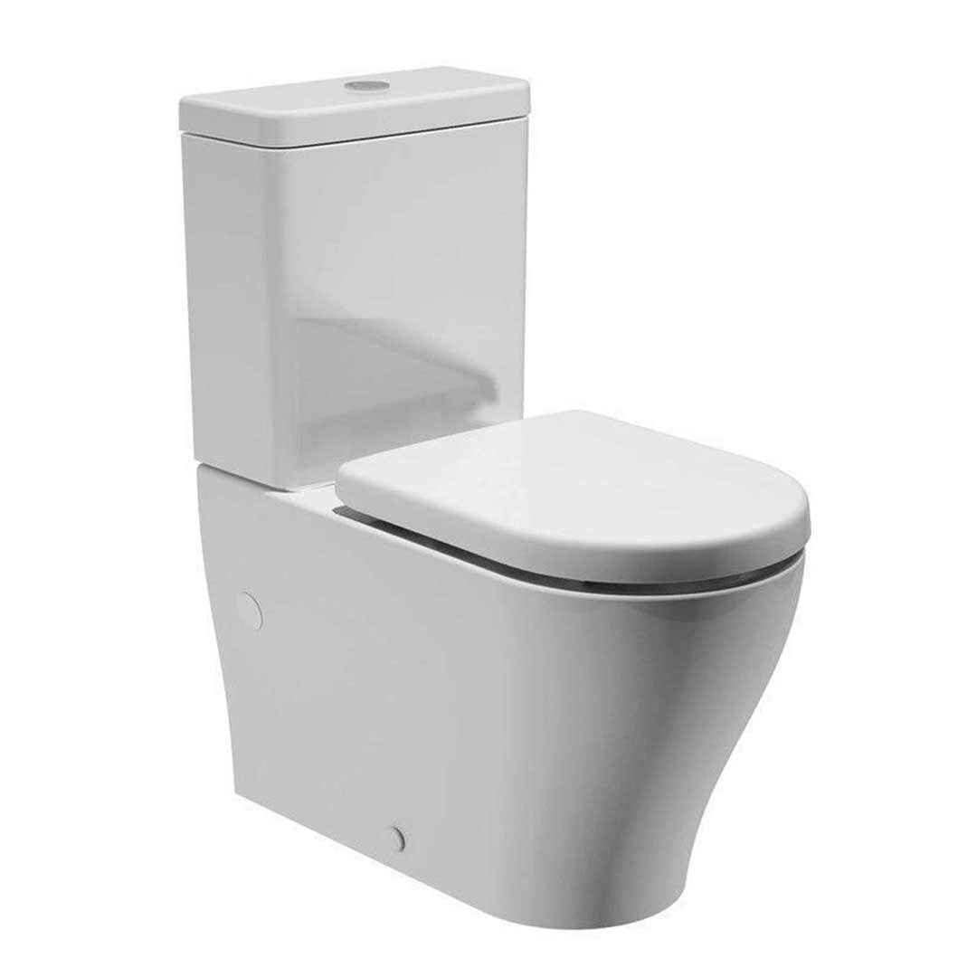 Caroma Luna Wall Faced Toilet Suite 829720w Back Entry