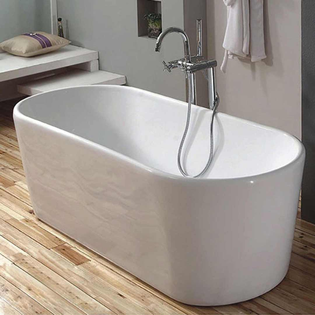 Bathroom Freestanding Bath Tub Sunny Group Oms 882 1600 White