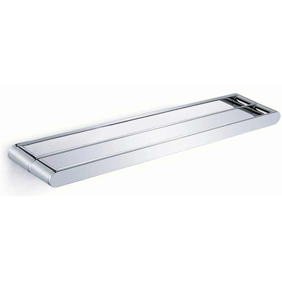 Emro Ware Jubilee Double Towel Rail 600mm  Chrome