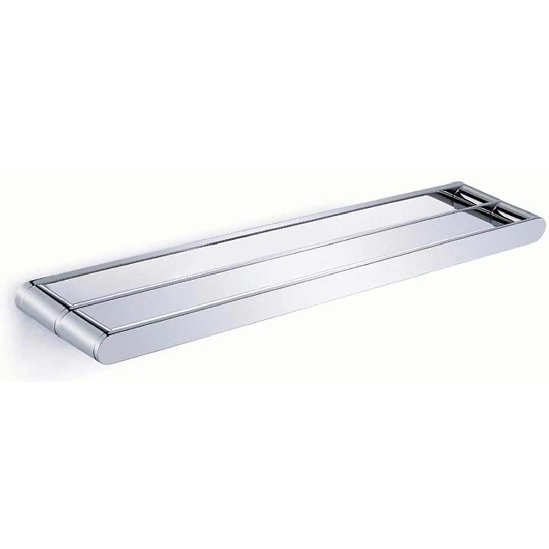 Emro ware jubilee double towel rail 900mm chrome bathroom accessories - Bathroom accessories towel rail ...