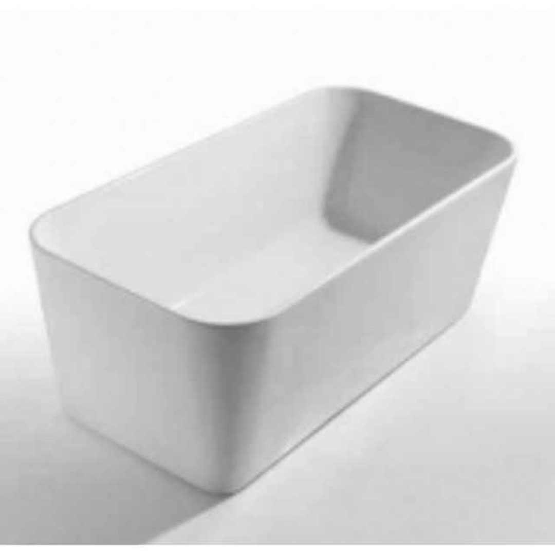 Castano urbino freestanding bath tub arcylic 1400 wide for Wide tub
