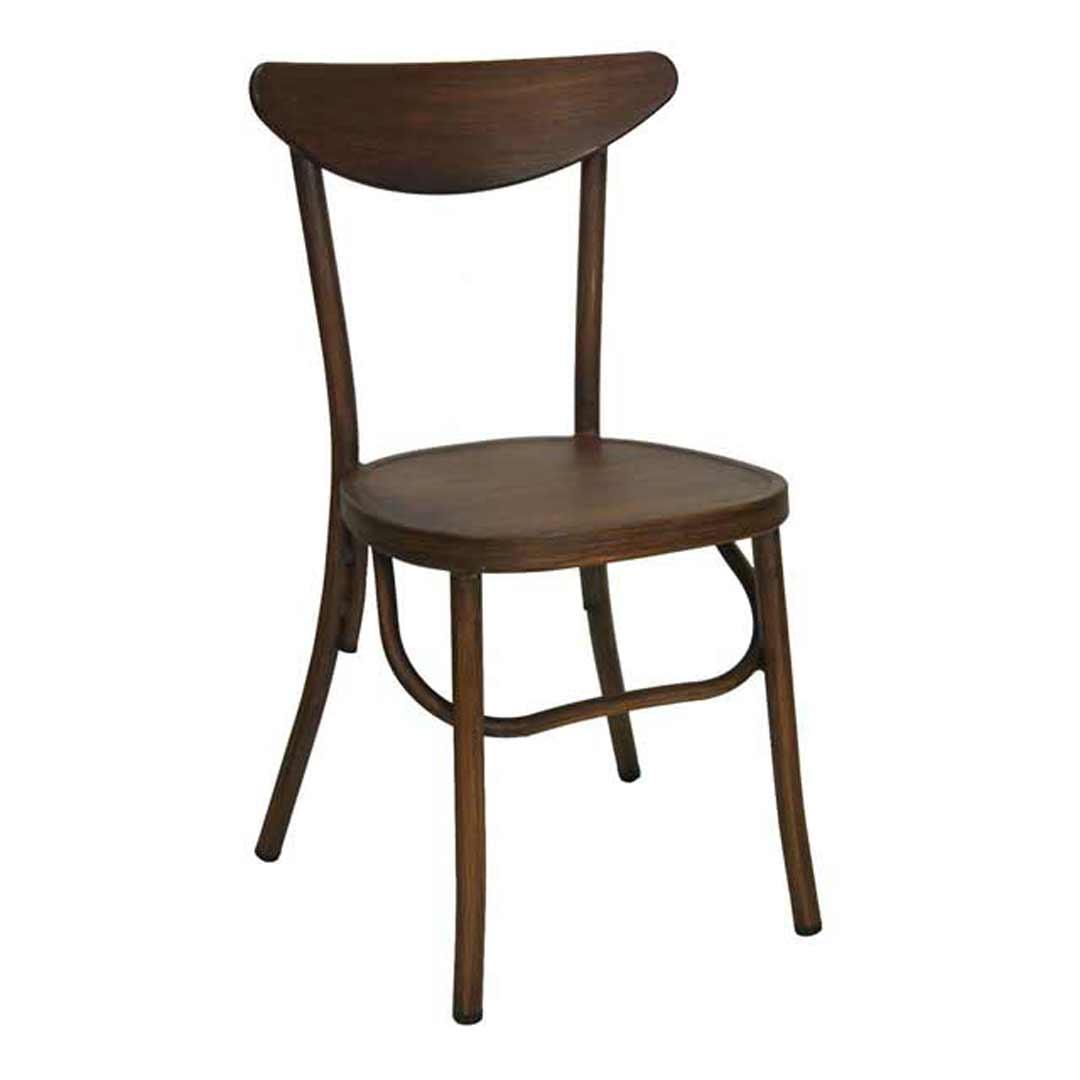 Melnikov aluminium outdoor chair replica thonet bentwood for Thonet replica chair