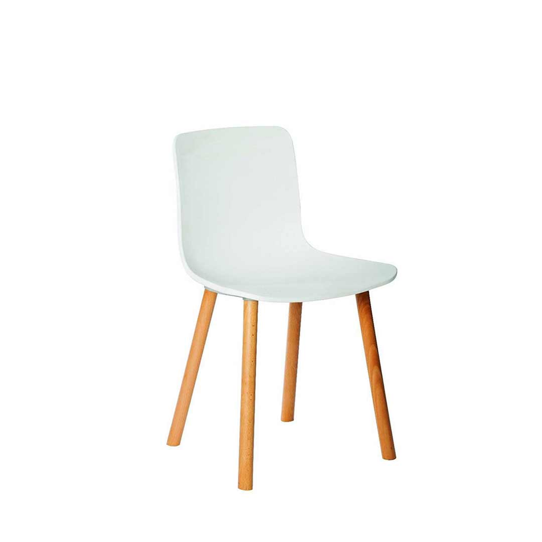hal replica jasper morrison cafe dining chair white. Black Bedroom Furniture Sets. Home Design Ideas