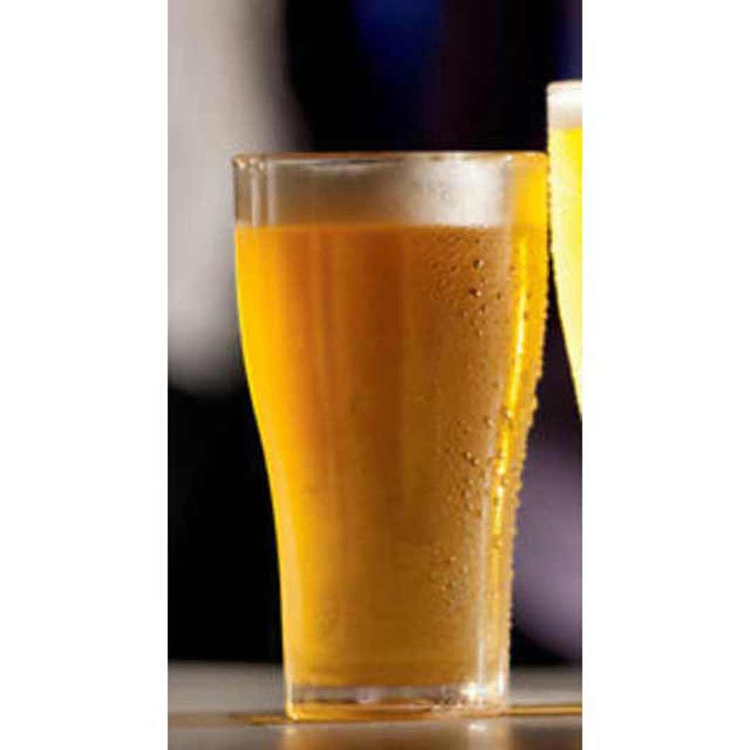 Wholesale Clear Glassware Plastic Beer Glasses Pot 285ml