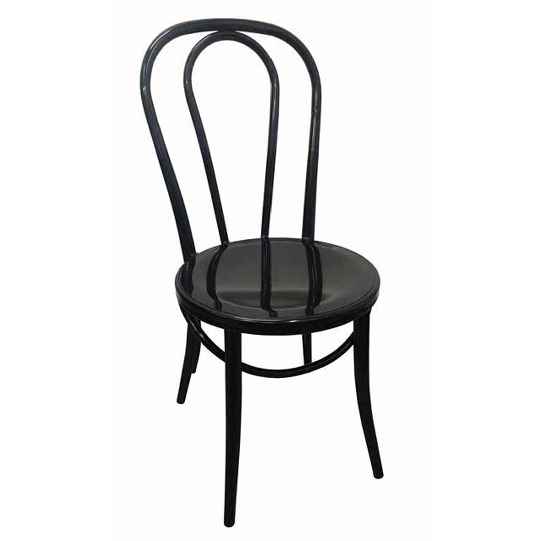 replica thonet no 18 bentwood metal retro dining chair black black bentwood chairs