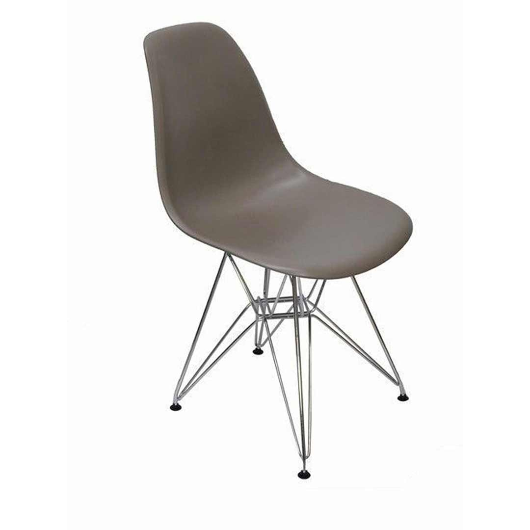 Ava Replica Eames DSR Dining Chair - Grey