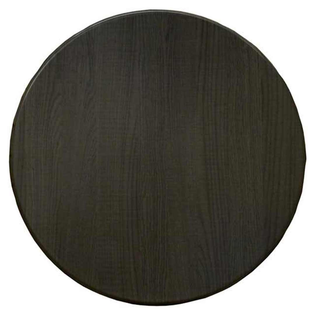 Tables Table Tops Isotop Outdoor Table Top Round 600mm Dark Oak