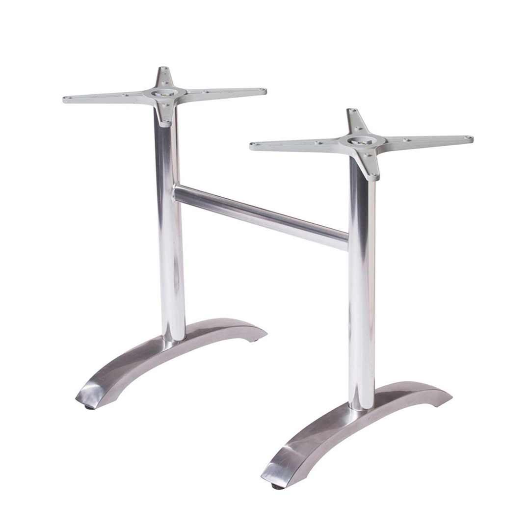 Avila Table Legs Aluminum Bar High Table Base Regular