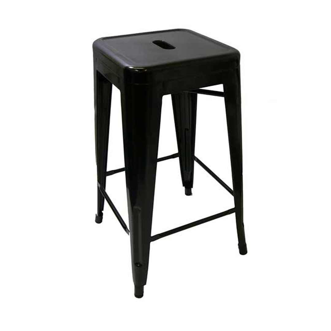 tabouret bar tolix imitation. Black Bedroom Furniture Sets. Home Design Ideas