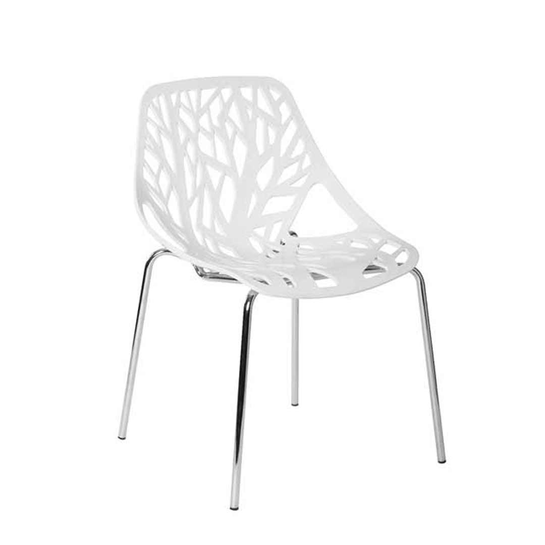 Replica Caprice Designer Dining Chair White