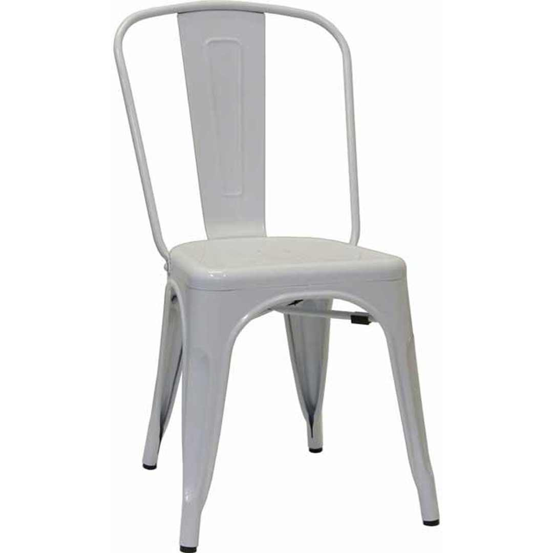 Tolix Xavier Pauchard Replica Dining Chair White