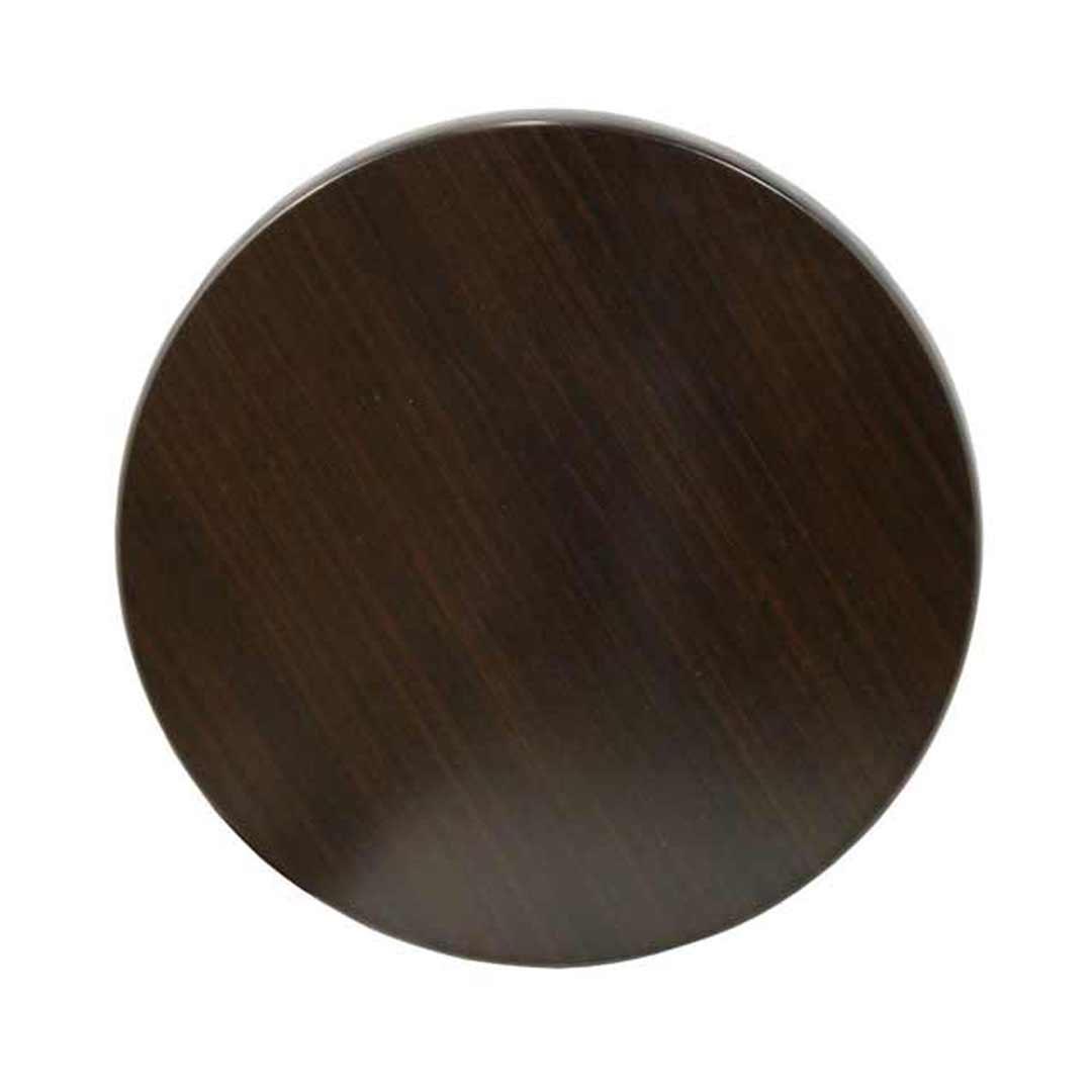 Isotop Outdoor Table Top Round 600mm Dark Walnut