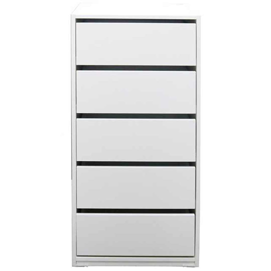 Riteway 5 Drawer White Clothes Robe Insert 50(W)cm x 110(H)cm
