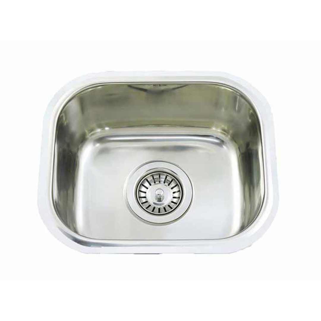 Small Bar Single Bowl Inset Kitchen Sink Stainless Steel