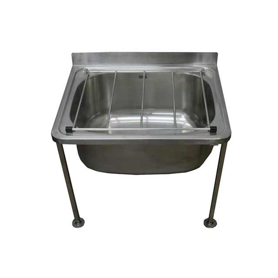 Stainless Steel Utility Sink With Legs : Sinks Laundry Sink Cleaners Single Bowl Mop Sink Stainless Steel ...