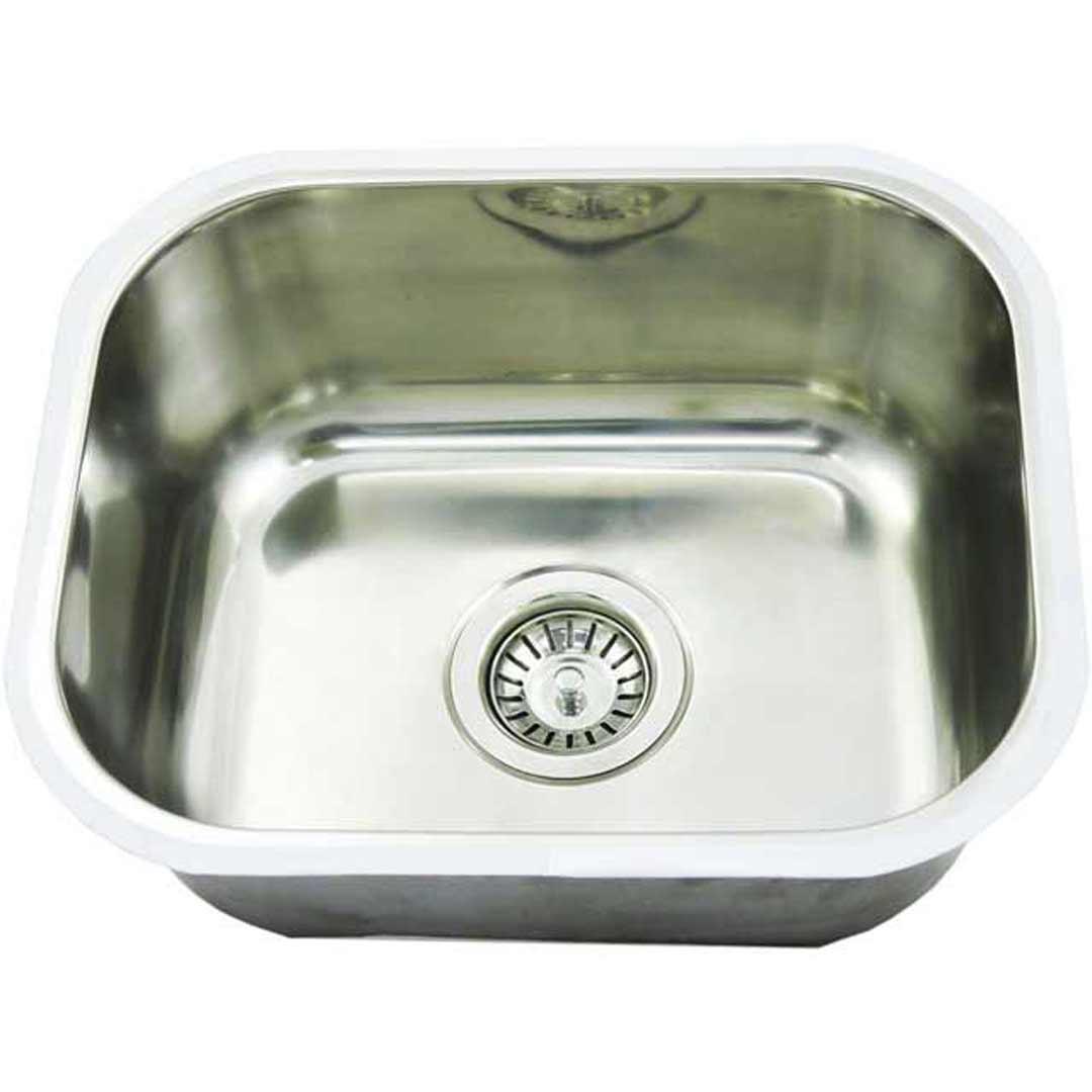 CM5 23L Undermount Single Bowl Small Bar Sink 437 X 360 X 180mm
