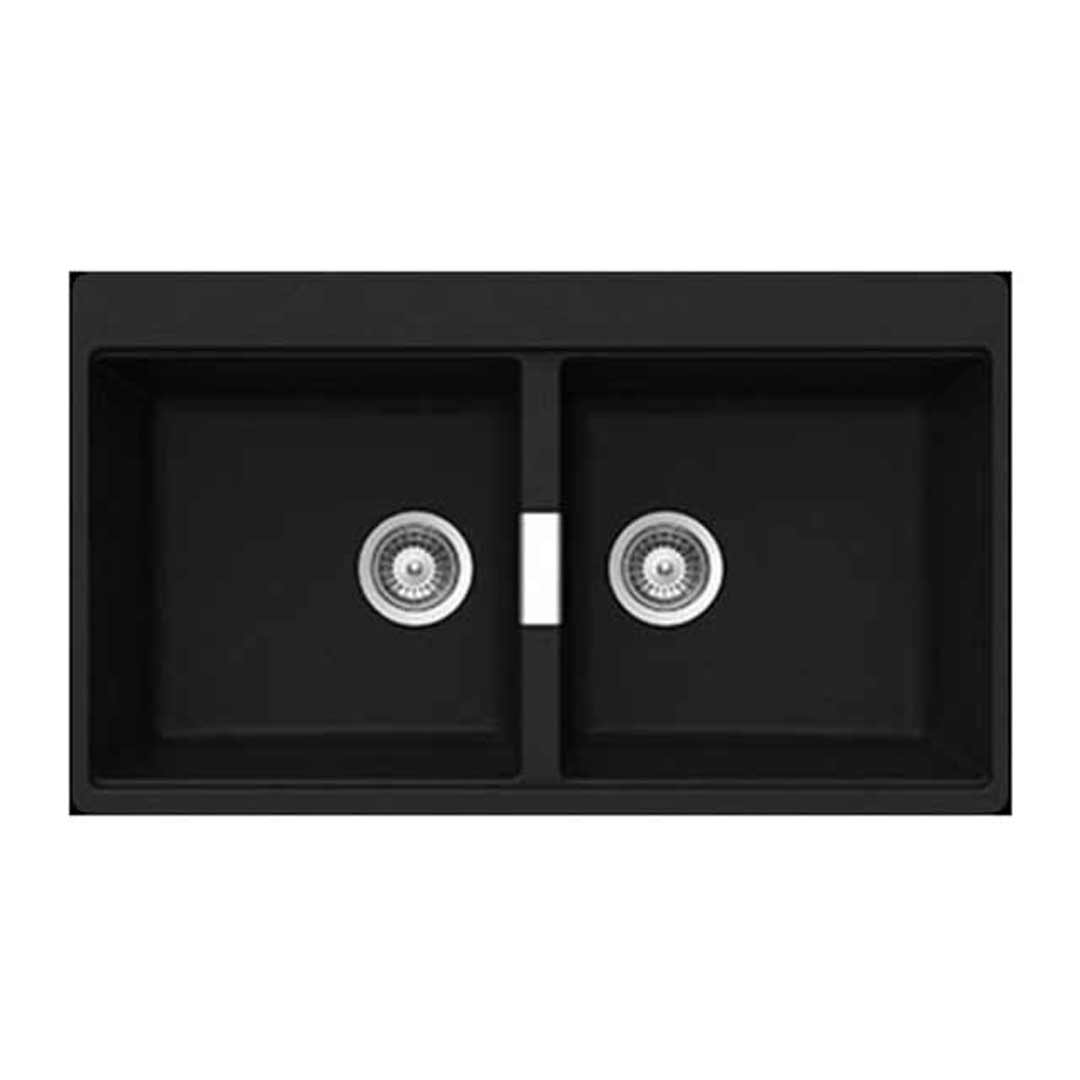 Abey N200B SOHO Schock Double Bowl Insert Sink Magma