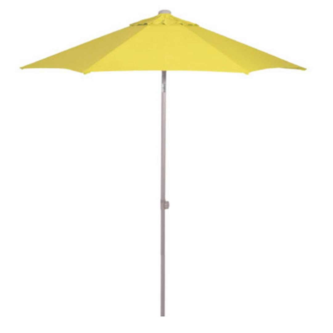 Shelta Harbord Aluminium Outdoor Umbrella 2500mm Hexagonal Yellow