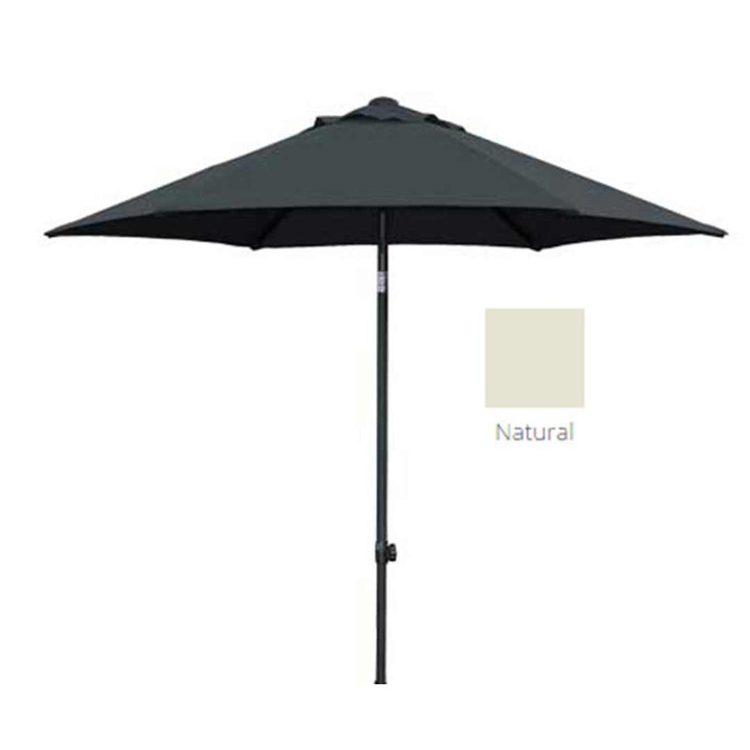 Shelta Harbord Aluminium Outdoor Umbrella 2500mm Hexagonal Natural