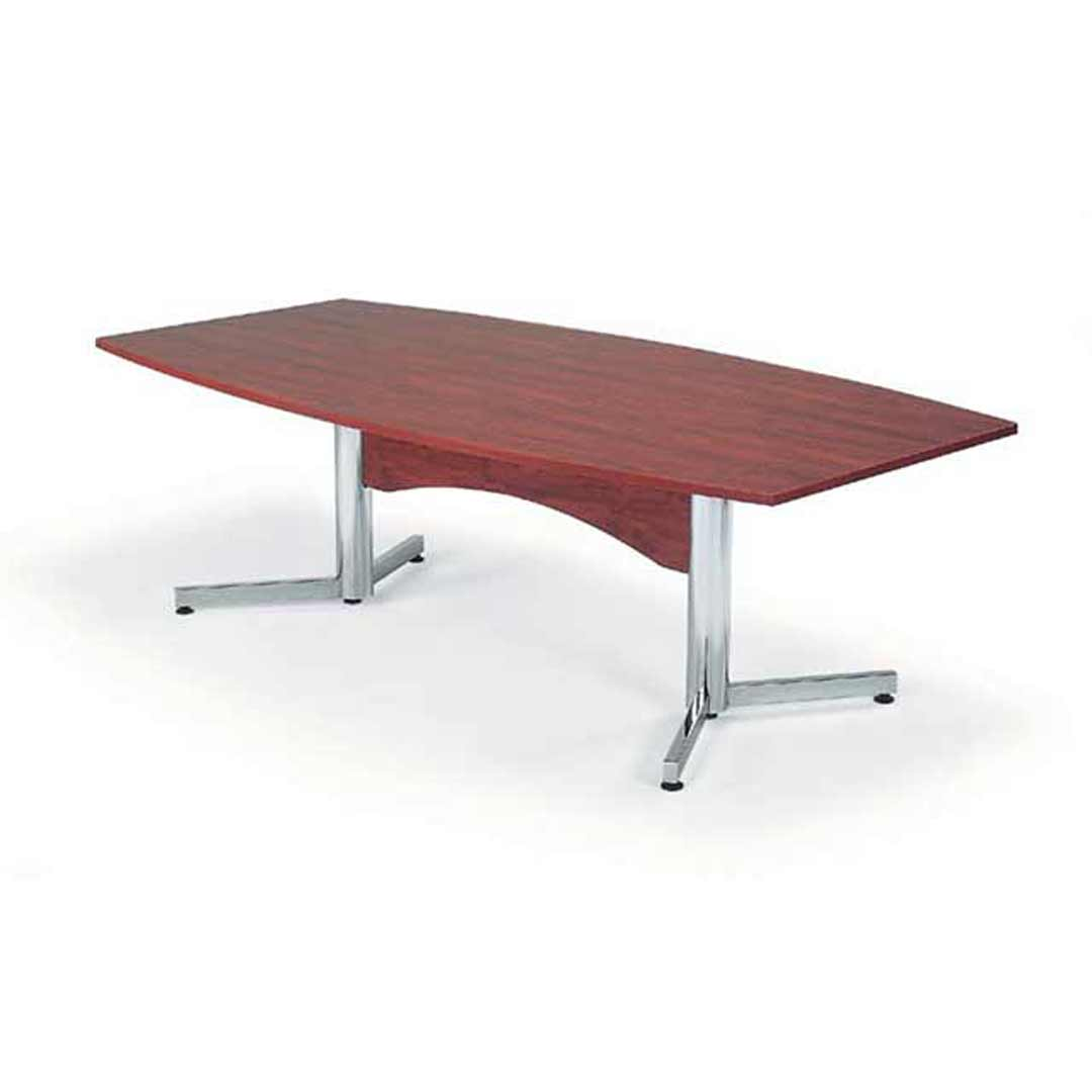 Merlin Boardroom Conference Meeting Table 2.4 x 1.2m Redwood