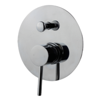 Brasshards Holli Shower Diverter Mixer Chrome 11SL754C