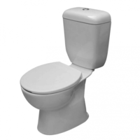 Castano Lucca S-Trap Close Coupled Toilet Suite