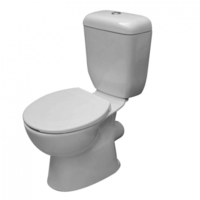 Castano Lucca P-Trap Close Coupled Toilet Suite