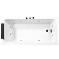 Novelli Quadretto Superior SR15QUS Spa Bath 1500mm Wide