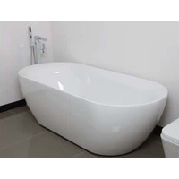 ECT Sorrento Acrylic Oval Freestanding Bath Tub 1800