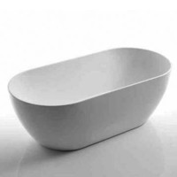 Castano Positano POS1600FB Oval Freestanding Bath Tub Arcylic 1600 wide