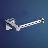 Dorf Enix Toilet Paper Roll Holder Chrome