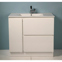Caboom G Series GS9.02 Free Standing Vanity with Ceramic Top