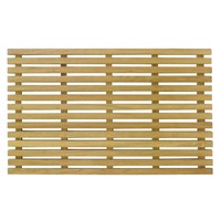 Bath Mat Timber Non Slip