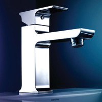 Dorf Jovian Basin Mixer Tap Chrome