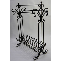 Metal Free Standing Towel 3 Rail Stand 890mm high