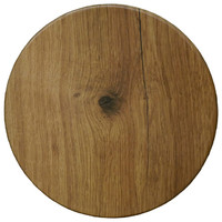 Isotop Outdoor Table Top Round 600mm Big Wood