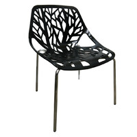 Willow Replica Caprice Designer Dining Chair - Black