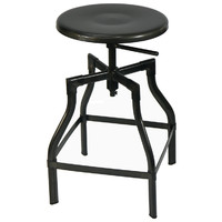 Industry Replica Turner Bar Stool 420 - 650mm Gun Metal