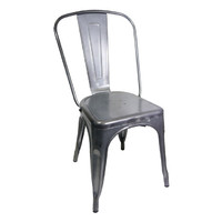 Tolix Xavier Pauchard Replica Dining Chair Gun Metal