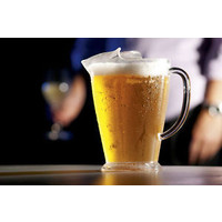 Wholesale Clear Glassware Polycarbonate Plastic Beer Jugs 1140ml x 12