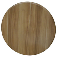 Isotop Outdoor Table Top Round 700mm Plum Natural