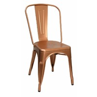 Tolix Xavier Pauchard Replica Dining Chair Copper