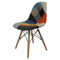 Ava Replica Eames Eiffel Woven Dining Chair Patchwork