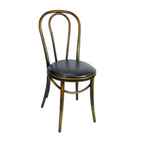 Bentwood Replica Thonet Chair Banquet Dining Seating Copper Brown Seat