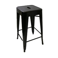 Tolix Xavier Pauchard Replica Metal Stool 660mm Black