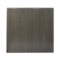 Isotop Outdoor Table Top Square 600mm Dark oak